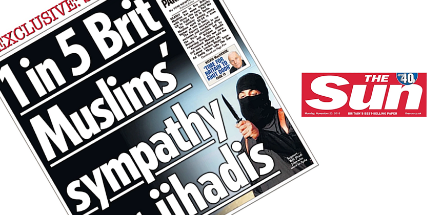 The Sun Front Page Headline